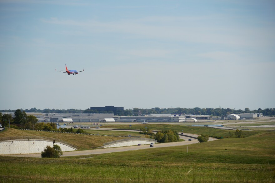 Consultants identified about 1,200 acres of airport land that could be available for commercial development once more debt is paid off.
