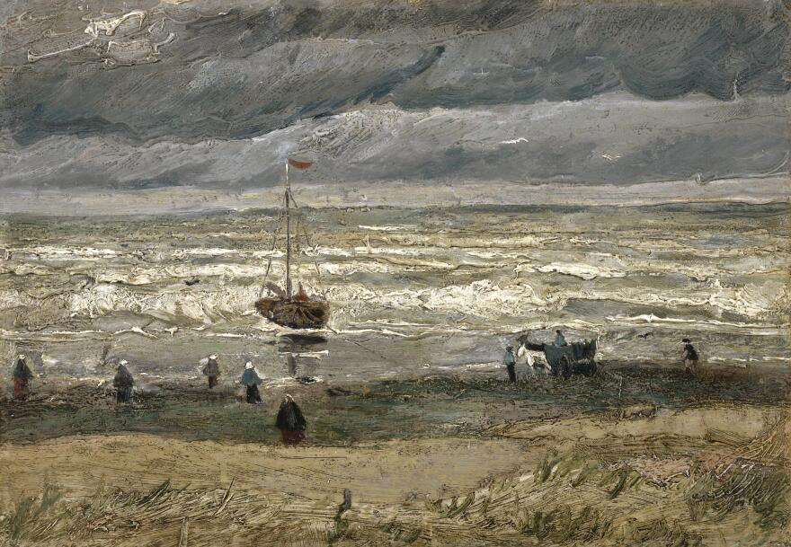 Van Gogh's<em> Seascape at Scheveningen</em>, 1882, was stolen from the Van Gogh Museum in Amsterdam in 2002.
