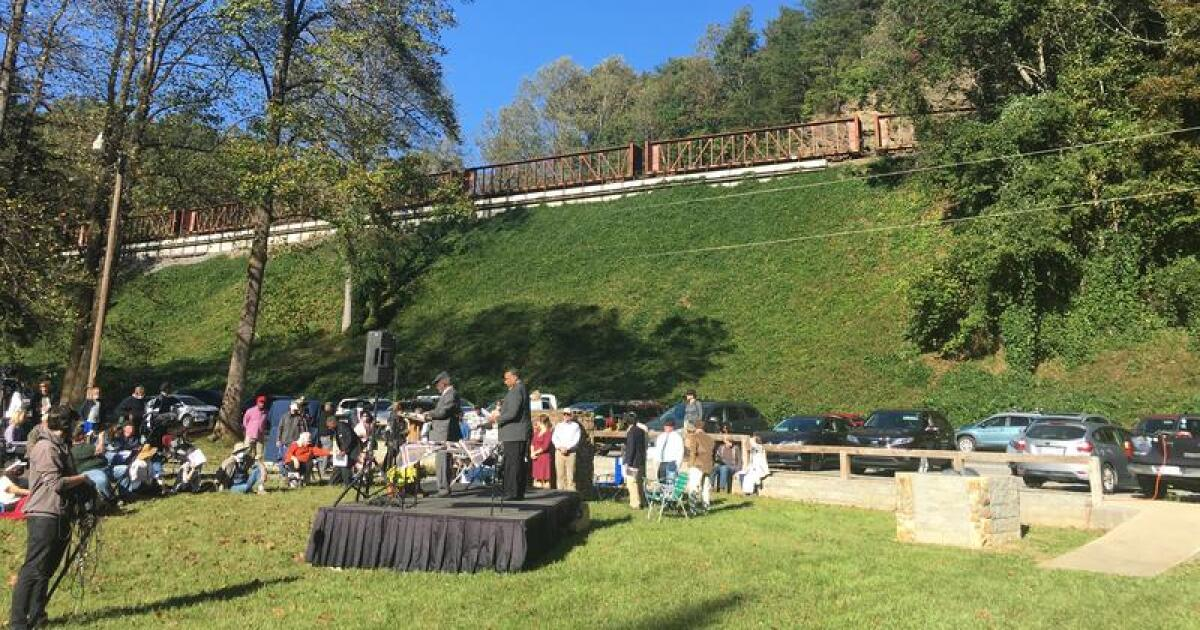 Lost or forgotten no more: Incarcerated Black laborers that built WNC railroad memorialized