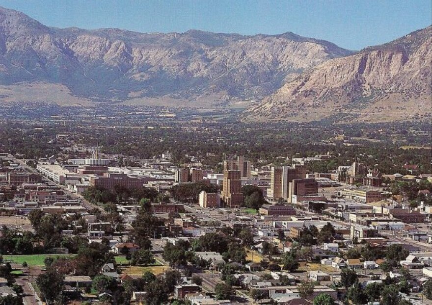Photo of downtown Ogden.