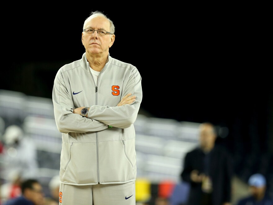 Syracuse head coach Jim Boeheim was suspended for nine games last year when it was found that the basketball program had violated NCAA academic rules.