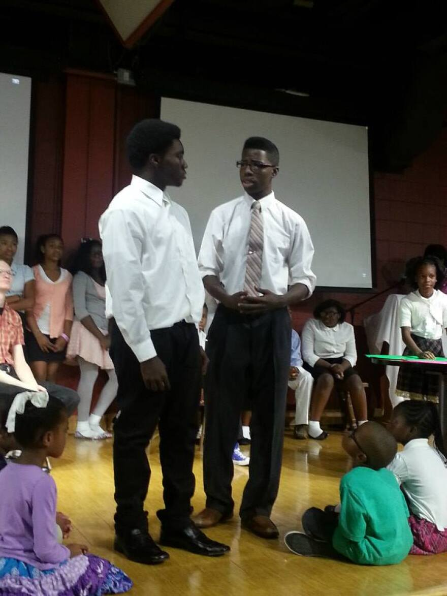 Hope Road performers rehearse for their upcoming show about Harlem.