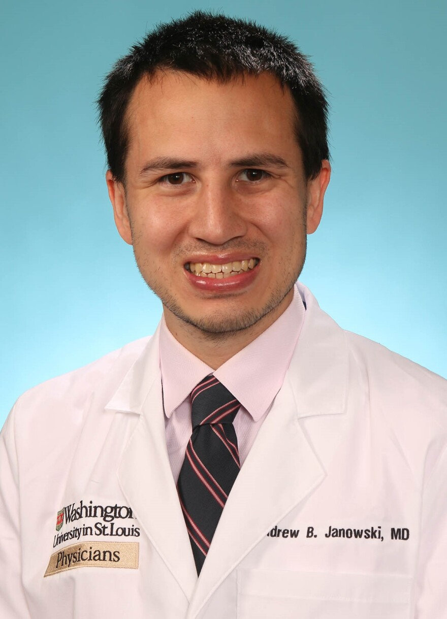 Andrew Janowski started in at the Washington University School of Medicine in 2013. (May 28, 2020)