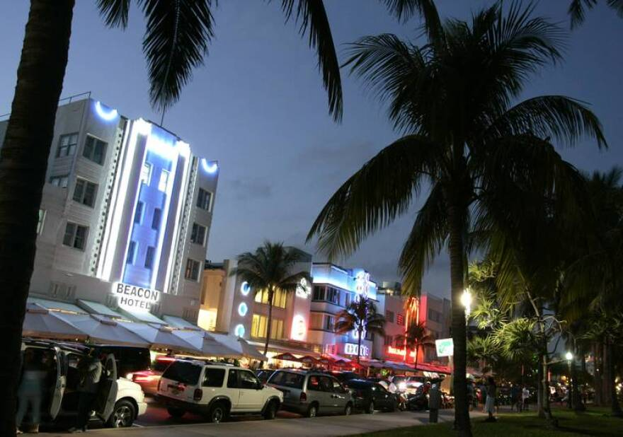 Two sewer line breaks in Miami Beach this week prompted swimming advisories. Miami Beach, Sunny Isles Beach and Bal Harbour Village residents were also asked to reduce water use.