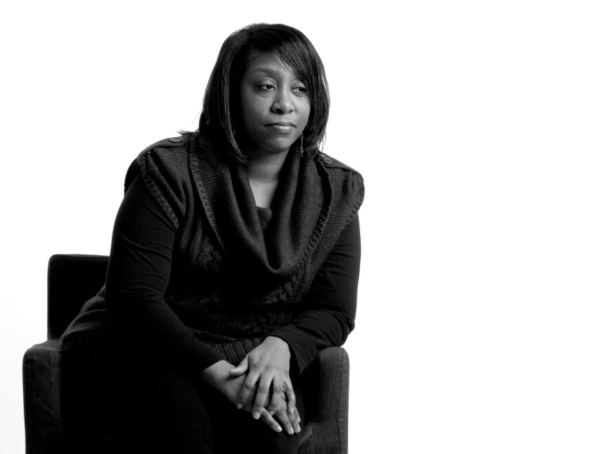 Casaundra Bronner, of Hazelwood, Mo., worked in marketing before being laid off in March 2010. She found a job again in March 2011 but is still uninsured and having trouble getting the health care she needs.
