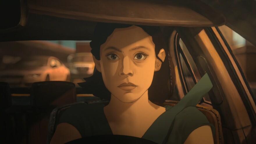 Rosa Salazar stars in <em>Undone</em>, a rotoscope animation series from two primary creators of <em>BoJack Horseman.</em>