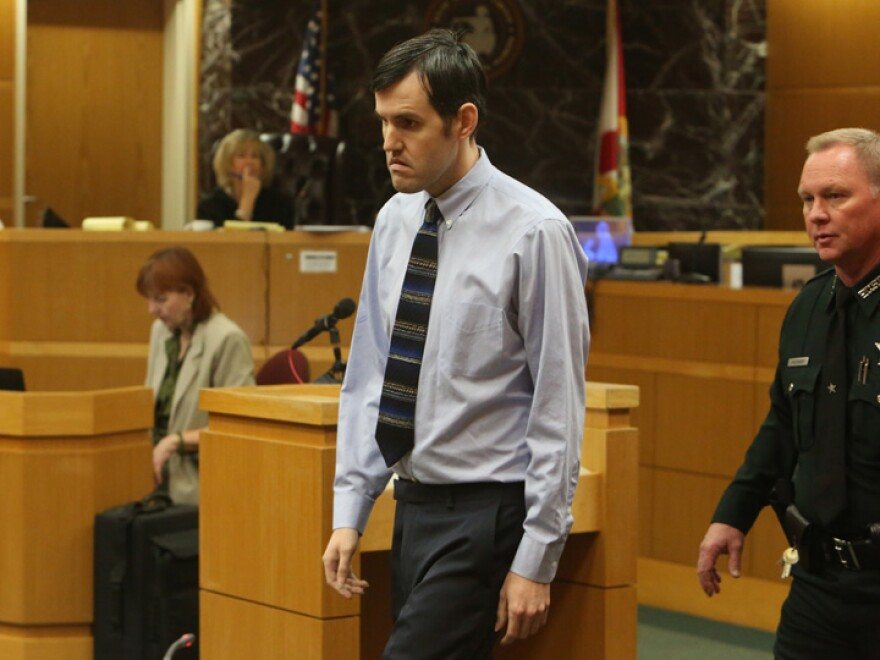John Jonchuck was found guilty of first-degree murder earlier in April for dropping his 5-year-old daughter off a bridge in 2015.