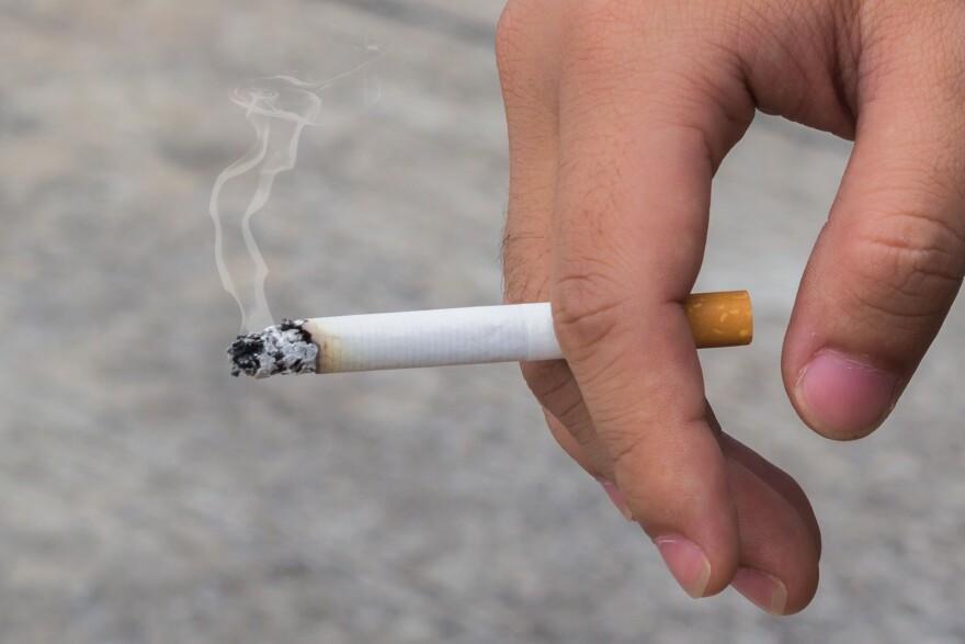 a photo of a cigarette