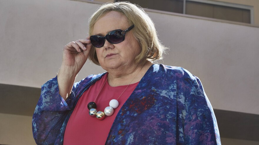 Louie Anderson says he thought of his mom and sisters when selecting clothes for his character Christine Baskets on the FX series <em>Baskets.</em>