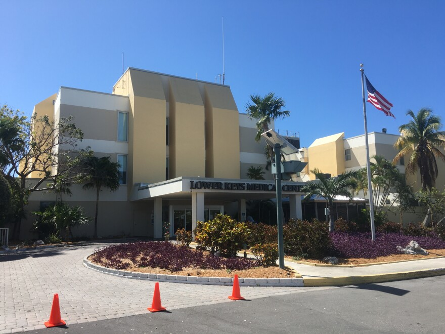Lower Keys Medical Center is the only hospital in Key West.