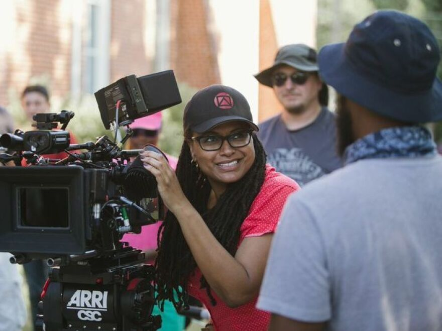 """Before<em> Selma</em>, DuVernay was best-known for directing a couple of independent films and founding the <a href=""""http://www.affrm.com/"""">African American Film Festival Releasing Movement</a>. In 2012, she won the best director prize at Sundance for her film <em>Middle of Nowhere</em>."""