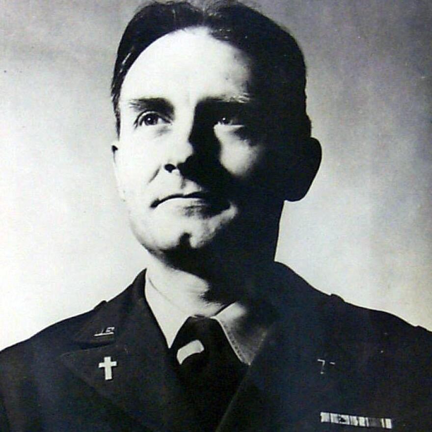 This undated U.S. Army photo shows Kapaun.