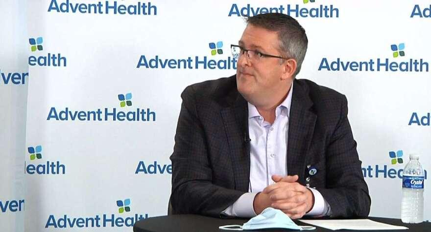AdventHealth Market CEO Brian Adams.