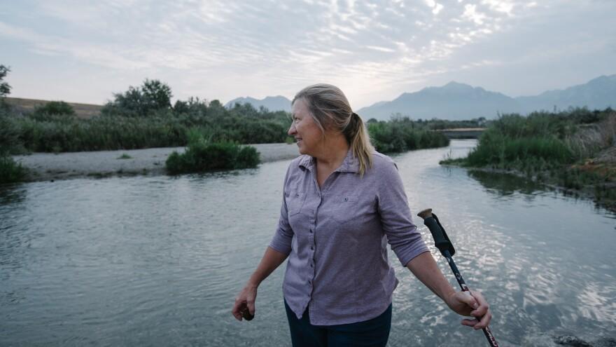 Photo of Chris Cline at Jordan River.