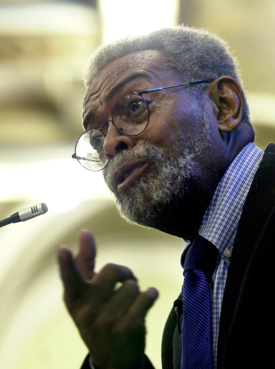 "In 2002, Amiri Baraka faced criticism of his poem ""Somebody Blew Up America,"" which led to the removal of his position as state poet laureate of New Jersey."