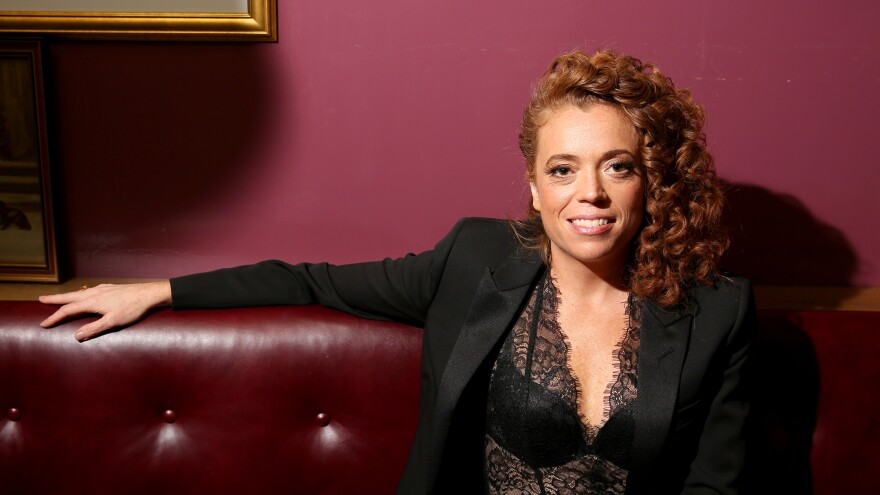 """Michelle Wolf says the title of her HBO special, <em>Nice Lady</em>, was inspired by real life: """"For the longest time ... I thought that's how I was supposed to be. I thought I was just supposed to be nice and pleasant — and then I realized that's no fun."""""""