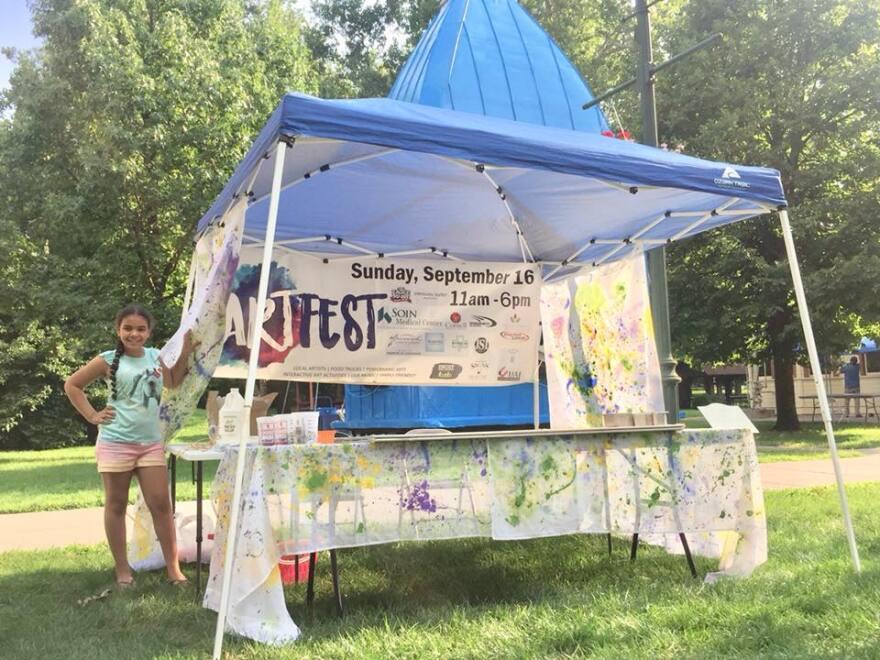 The third annual ArtFest is Sunday at Beavercreek's Community Park.