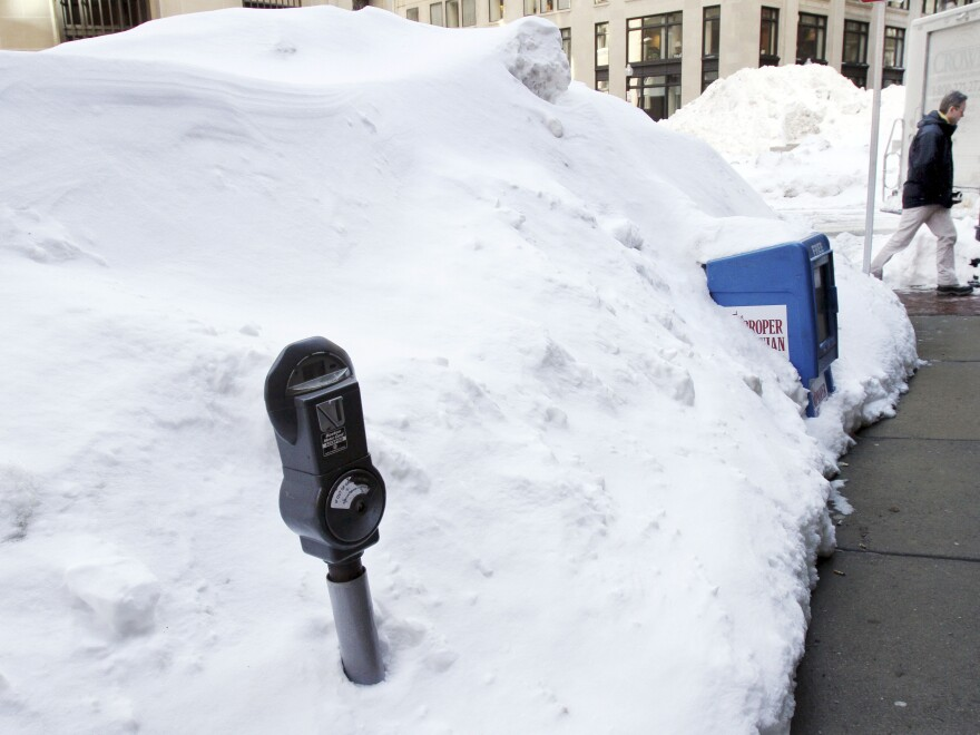 In Boston, residents are bracing for another round of severe winter weather.
