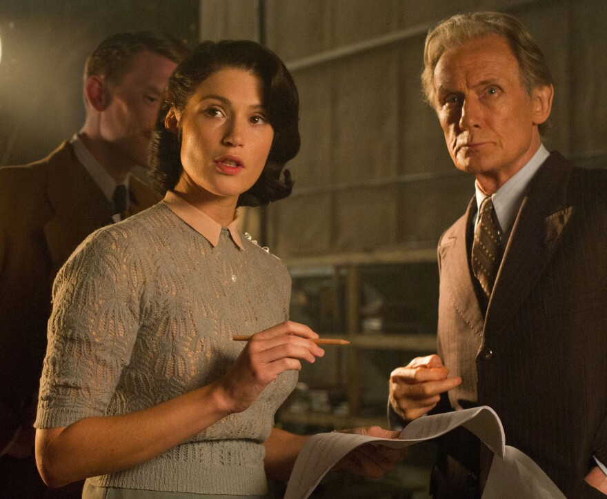 <em>Their Finest </em>stars Gemma Arterton as a brilliant young scriptwriter, and Billy Nighy as an aging actor who still wants to be cast as the romantic lead.