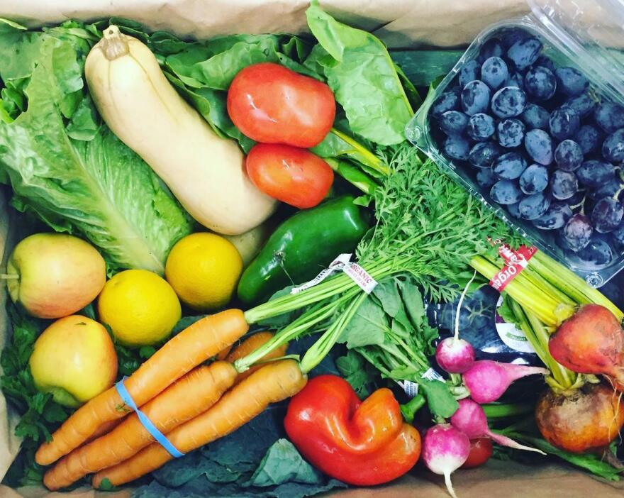 Food Commons Fresno took over the Willeys' food box program — now under the name Ooooby — a year and a half ago.