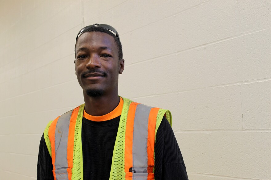 Corey Harris was in the pilot BUD session in fall 2014. He is now an apprenticed ironworker with two years to go until he becomes a journeyman.
