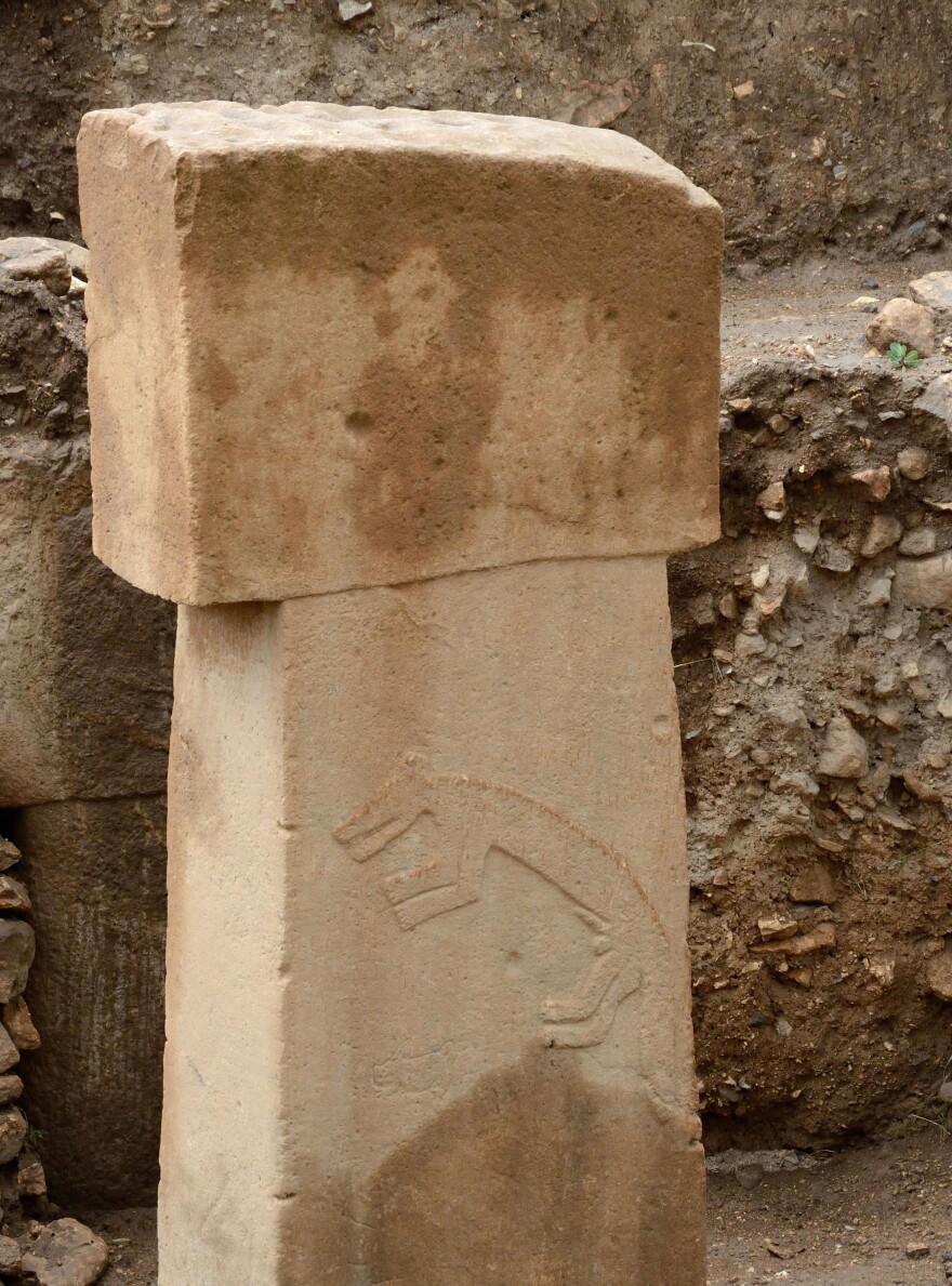 The pillars at Gobekli Tepe resemble those at Stonehenge — but predate them by several thousand years.