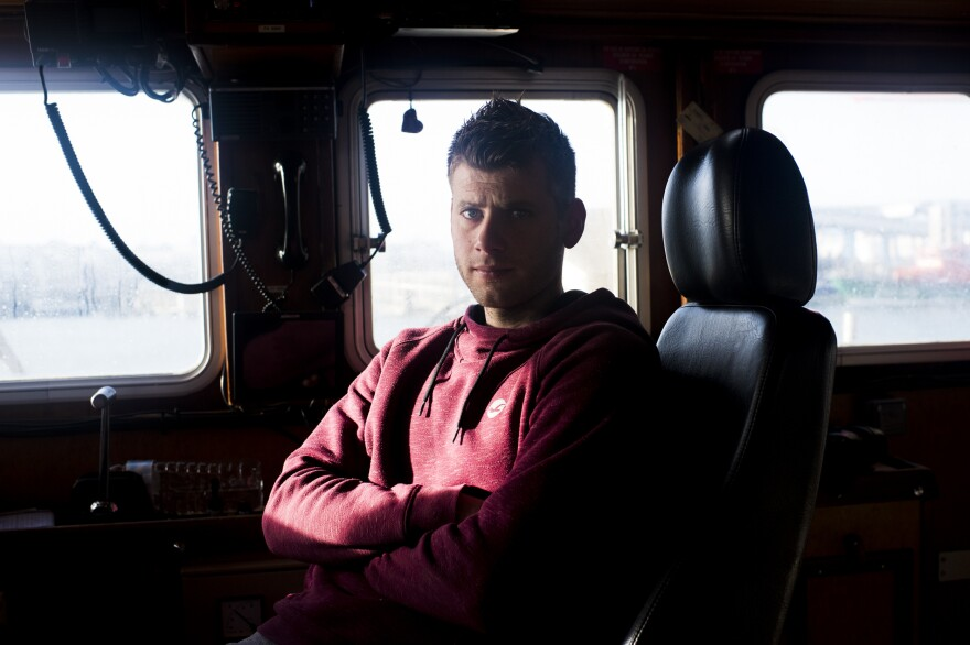 Mathieu Pinto, captain of the fishing boat <em>L'Ophelea</em>, says he needs to fish and will put up a fight if he is barred from British waters.
