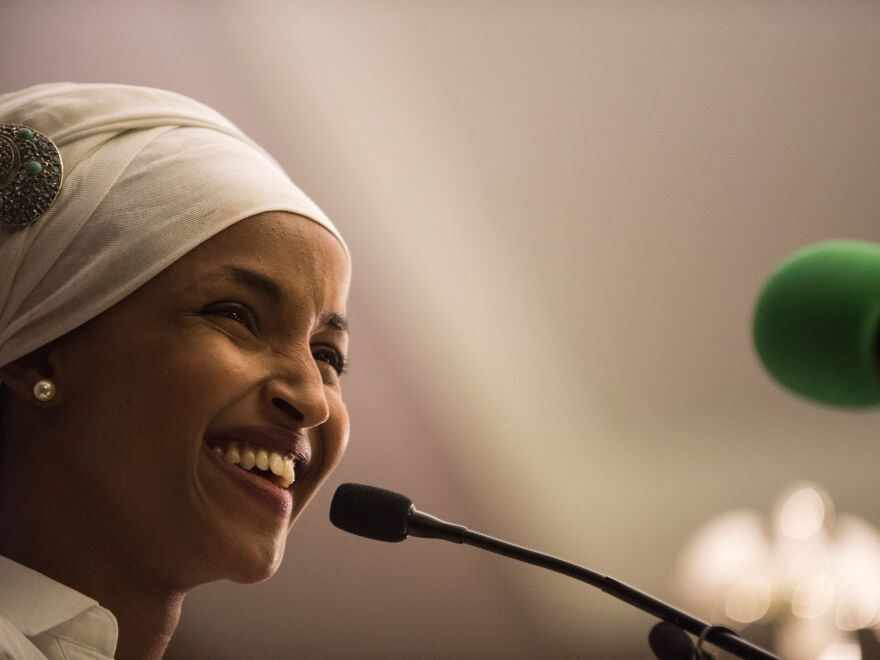 State Rep. Ilhan Omar is likely to become the first Somali American to go to Congress this fall after winning her primary in a heavily Democratic Minnesota district.