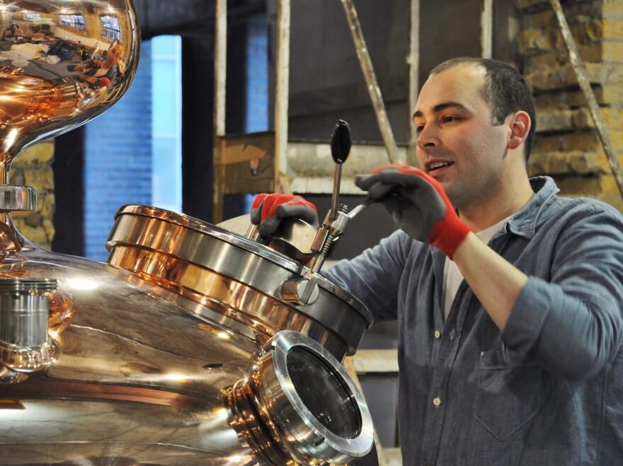 Darren Rook checks out a new still at The London Distillery.