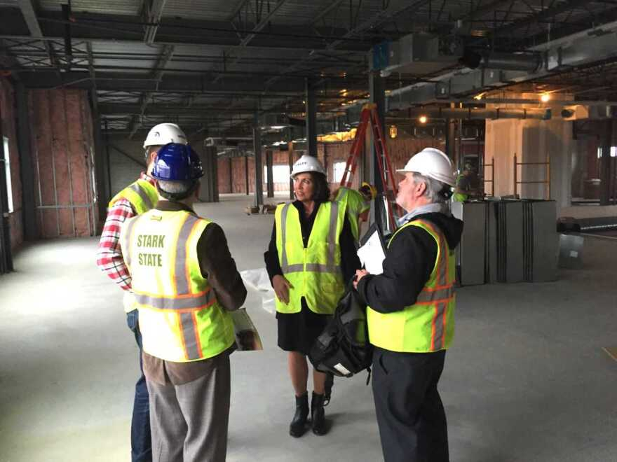 Third floor of the new building will completed later