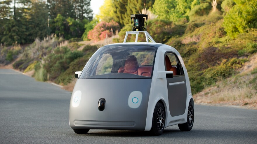 Google X is building a few hundred self-driving cars that have no steering wheel, accelerator pedal or brake pedal.