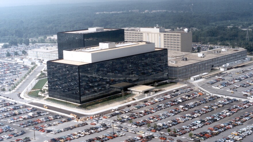 The National Security Agency's headquarters in Fort Meade, Md.