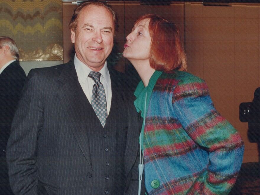 Rip Torn pictured in 1990 in Toronto.