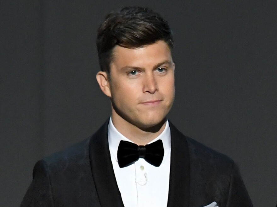 """Colin Jost, here in 2018, first joined <em>Saturday Night Live</em> as a writer 15 years ago. """"It's a world that I love so much,"""" he says of the show."""