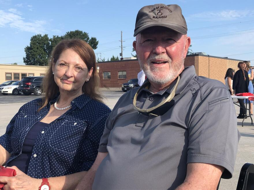 Kay and Joe Ernst said they both voted for Hawley because of his support of President Donald Trump. Joe said he likes that Hawley is taking the lead on calling for more scrutiny of tech companies.
