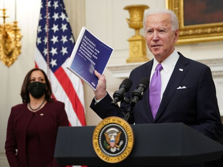 President Joe Biden released his pandemic response plan shortly after taking office.