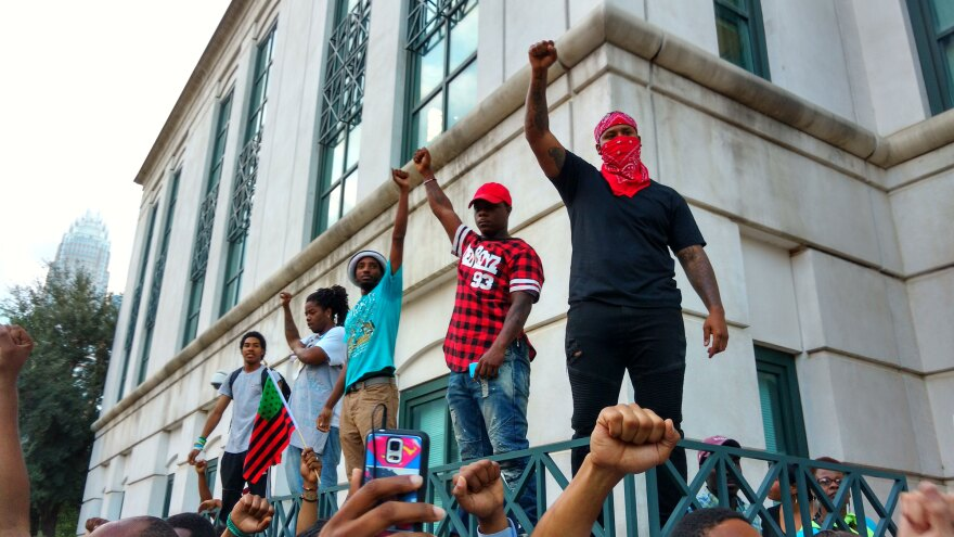 Protests in Charlotte Sept. 21, 2016