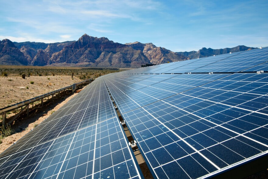 Despite federal withdrawal from the Paris deal, Nevada is pursuing its own ambitious climate policy, based in part on the state's already robust solar industry.