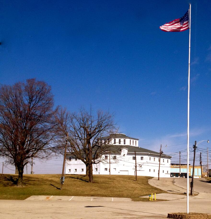 The Octagon Building (known to many as 'The Roundhouse') at the Montgomery County Fairgrounds
