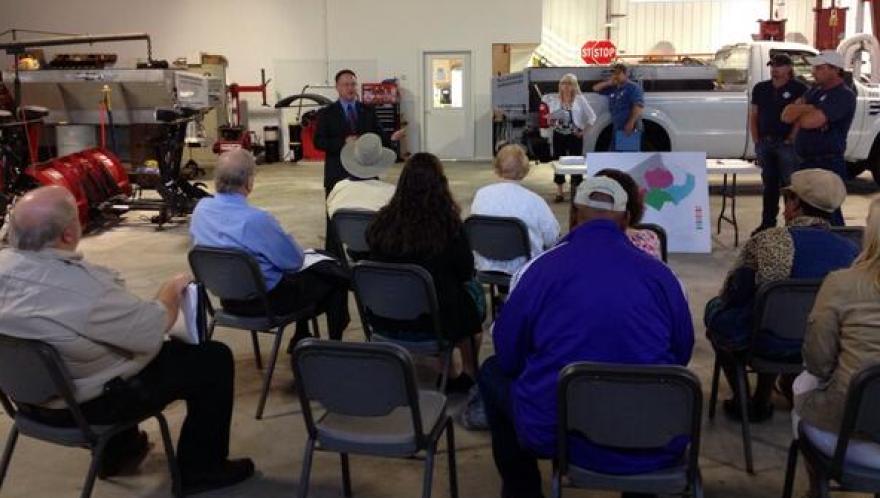 """""""Fairmont 101"""" class visits City Public Works Department"""