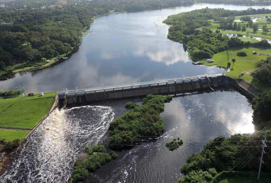 Hillsborough River dam