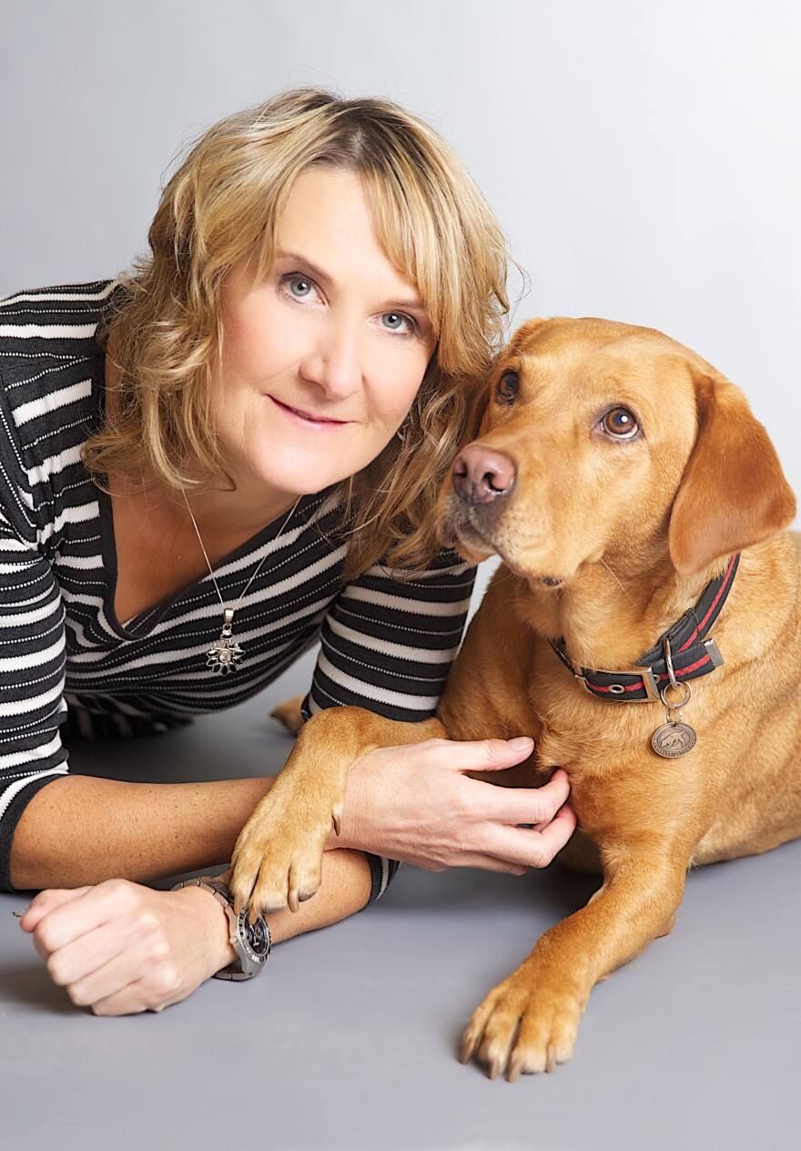 Dr. Claire Guest, co-founder of Medical Detection Dogs, says one of her dogs sniffed out her own breast cancer.
