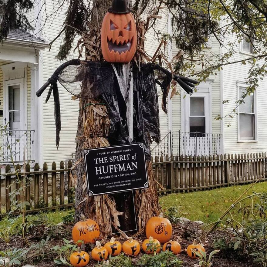 The Huffman Historic District is hosting a Halloween-themed home tour this weekend.