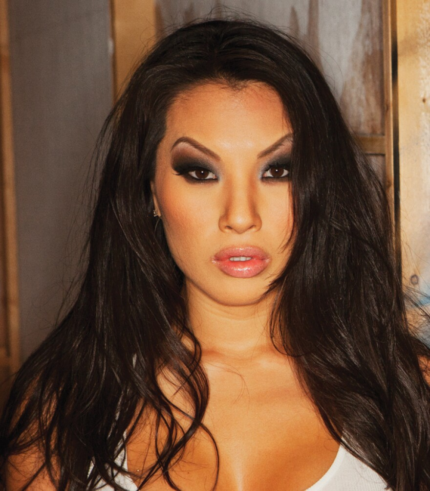 """""""Every time I shoot a sex scene, I fall a little bit in love,"""" says adult film actress Asa Akira. """"It's the only way I can describe it. Not necessarily with my partner ... in love with being watched."""""""