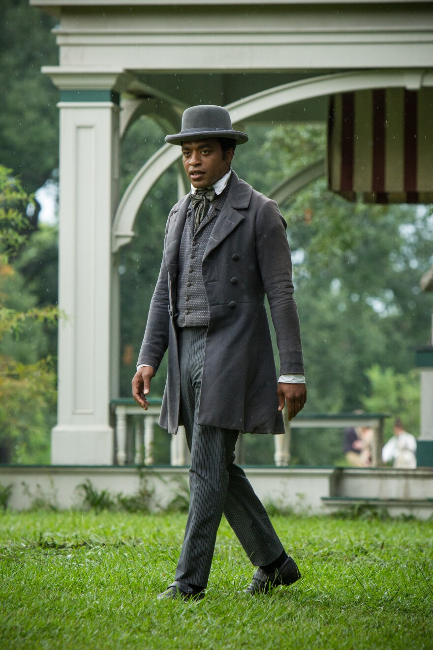 Chiwetel Ejiofor plays Solomon Northup, a free black man in upstate New York who was kidnapped into slavery in 1841 and won his freedom 12 years later. The film <em>12 Years a Slave</em> is an adaptation of Northup's 1853 memoir.