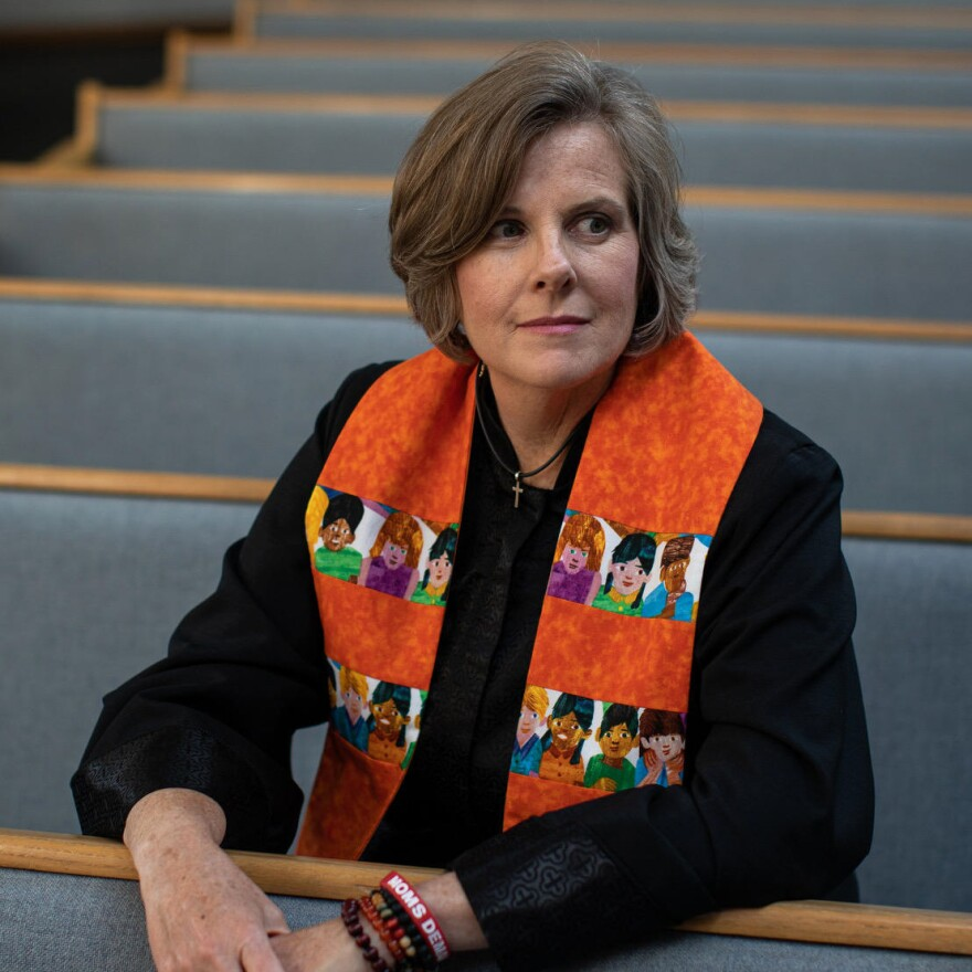 The Rev. Deanna Hollas became the first ordained minister of gun violence prevention last year. 2/6/20