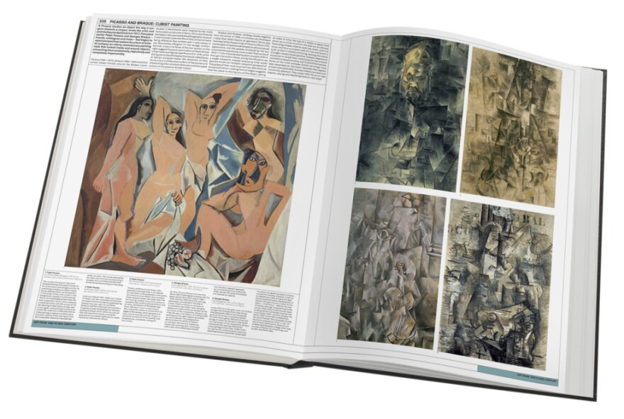 """If<em> The Art Museum </em>were a real museum and not just a book, there would hardly be need for another. At 18 pounds and 922 pages, the expansive book is organized into thematic """"galleries,"""" and within those """"rooms"""" dedicated to solo artists, like Picasso."""
