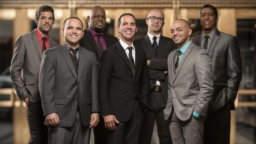 The Miami group Tiempo Libre combines hip-hop, R&B, rock and pan-Latin sounds to create a distinctive version of Cuban <em></em>party music known as<em> timba.</em>