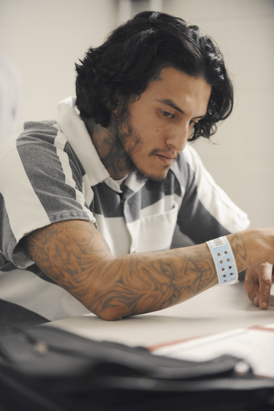 Cabral plays Hector Tontz, a former gangbanger implicated in a drug-related murder, in ABC's <em>American Crime. </em>It wasn't long ago that Cabral himself was facing a possible 35-year sentence for violent assault.