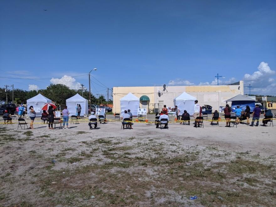 COVID-19 Testing & Telemedicine Mobile Clinics_Immokalee, Florida